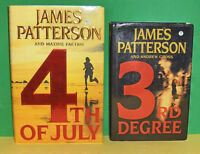 Lot of 2 James Patterson  Hard  Cover Books