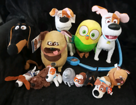 The Secret life of pets plush toys and electronic max the dog