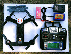 RACING OR CRUISING DRONE QUAD WITH BRAND NEW FPV GOGGLES