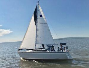 Voilier O'Day 272 LE, 1988 prêt à naviguer!