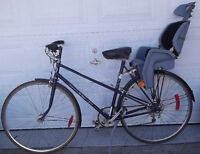 """""""Freespirit"""" road BIKE VELO with baby seat: Laval / North Shore Greater Montréal Preview"""