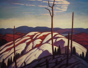 """Limited Edition """"First Snow Lake Superior"""" by Lawren Harris"""