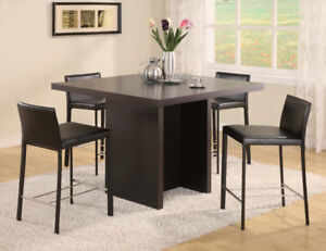 Brand new counter table$99up? - dining set$299up?---really?