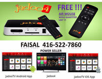 ★JADOO4 HD 1080p★BRAND NEW★FREE AIR MOUSE★CRICKET★PAKISTAN★INDIA