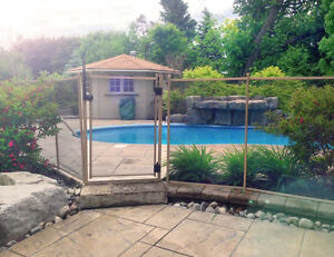 Removable fence/enclosure for pool, yard or deck Kawartha Lakes Peterborough Area image 9