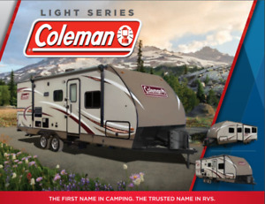 COLEMAN RV's on SALE - limited time