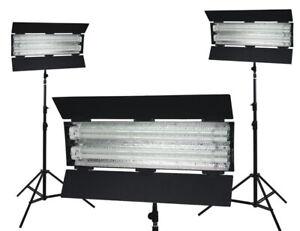 Flolight Fluorescent Studio Lighting Kit