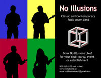 'No Illusions' Classic and contemporary rock band