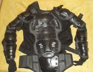 motorcycle body armour size XXL