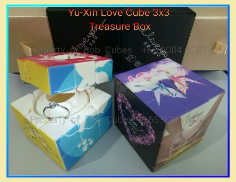 = Yu-Xin Love Cube 3x3 Treasure Box for sale