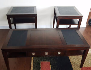 Solid Wood Coffee And End Tables [Truro]