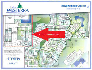 GREAT LOTS BACKING POND IN STONY PLAIN $131,400.00