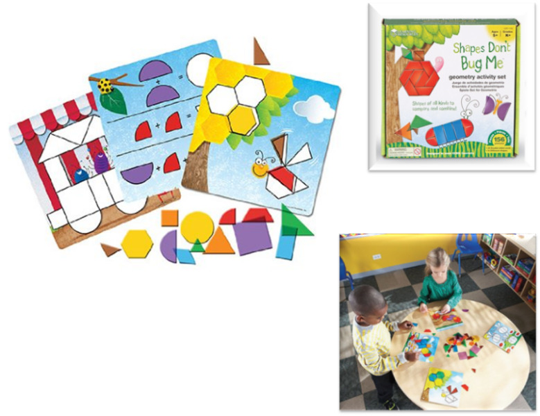 BNIB: Learning Resources Shapes - Don't Bug Me - Geometry Activity Set