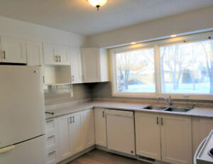 Just Renov'd 2+2 BR House fully dvlp'd bsmt Morinville -free mo*