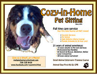 Cozy-in-Home Pet Sitting