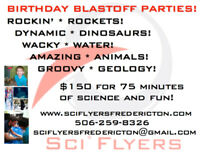 Science Birthday Parties for Kids!