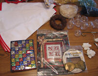 *REDUCED* Large Lot of Christmas Craft Supplies