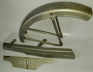 Jawa  210 Front  Fender and Chain Guards  Mid  80's