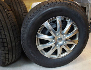 Set of 4 Winter Tires on Rims - Torrent/Equinox, price lowered