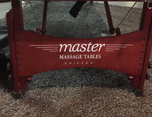 Never used Massage Table by Health Line