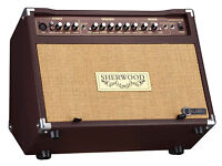 Carlsbro Sherwood 30R 30W Professional Acoustic Combo Guitar Amplifier + Effects
