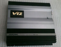 Alpine MRV-T707 2CH MOSFET Car Amplifier 225Wx2,RMS,600W Bridged