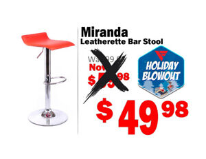 BAR STOOLS - CHAIRS - TOLIX - TABLES - REDUCED PRICES - OAKVILLE