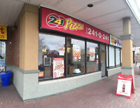 Busy Franchise Pizza Store For Sale