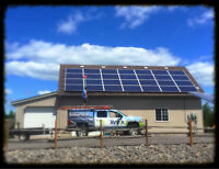 Hydro too expensive? GO SOLAR! Call AVVIA today!