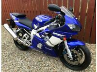 YAMAHA YZF R6 - 5EB CARB MODEL - 1,295 MILES FROM NEW + TRULY SUPERB CONDITION