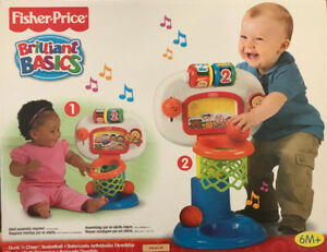 Fisher price dunk n cheer basketball