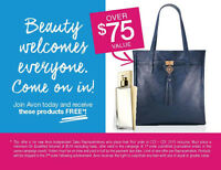 FREE toJoin Avon and become an Independent Sales Representative.