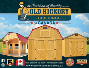 Old Hickory Buildings and Sheds - Mennonite Craftmanship!
