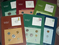 Coin proof sets from around the world. Coins of all nations.