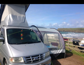 Drive-away awning (Kampa Travel Pod mini)