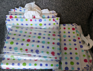 Lot of large retail Shopping bags, eco friendly