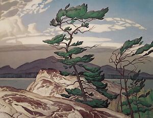 "Limited Edition ""The White Pine"" by A.J. Casson"