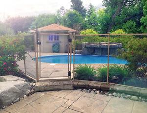Removable fence/enclosure for pool, yard or deck Stratford Kitchener Area image 9
