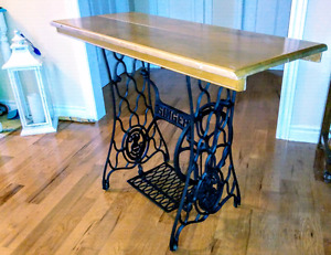 Side table, hall table, singer sewing machine table