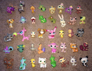 40 Littlest Pet Shop Lot ~ Dogs, Cats, +++ FREE SHIPPING!!