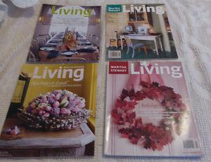 Martha Stewart Living magazines