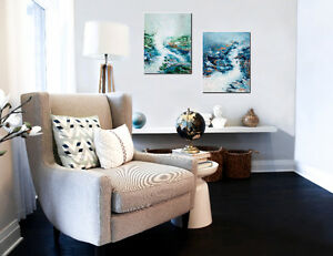 Painting by WĀVZ (local artist) - Art & Home decor store