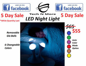 LED Night Light (Multicolored)5 DAY SALE