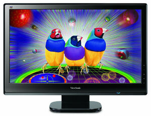 Viewsonic VX2453MH-LED 23.5 Inch Monitor *Great Condition*