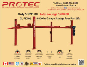 Protec 8000lbs Garage Storage  Parking Lift