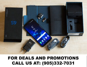 Samsung Note 8, Note 5, S9+, S8+, S9, S8, S6 & S5 ON SALE!