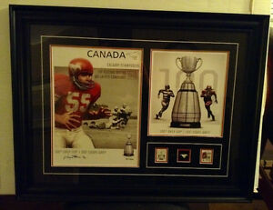 CFL® – CALGARY STAMPEDERS LIMITED EDITION SIGNED PRINT-New inBox