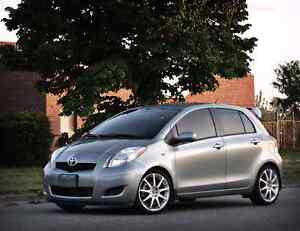 I want to trade my Toyota Yaris 2008