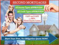 Private 1&2 Mortgages-Home Equity Loan - Approved on Home Equity