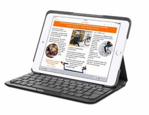 Logitech Canvas Keyboard Case for iPad Mini 2, and 3 (Black)